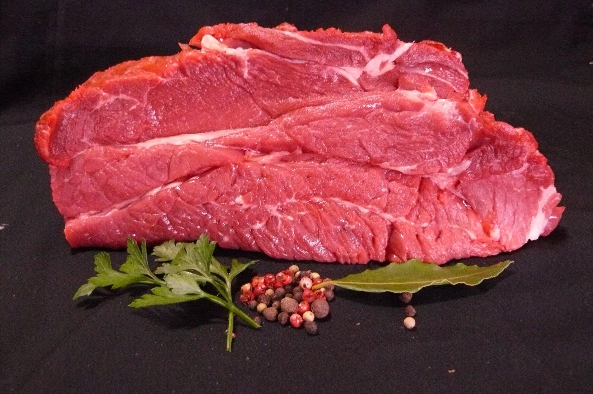 Entrecôte Marseillaise de bœuf Bio, 27,90€/Kg