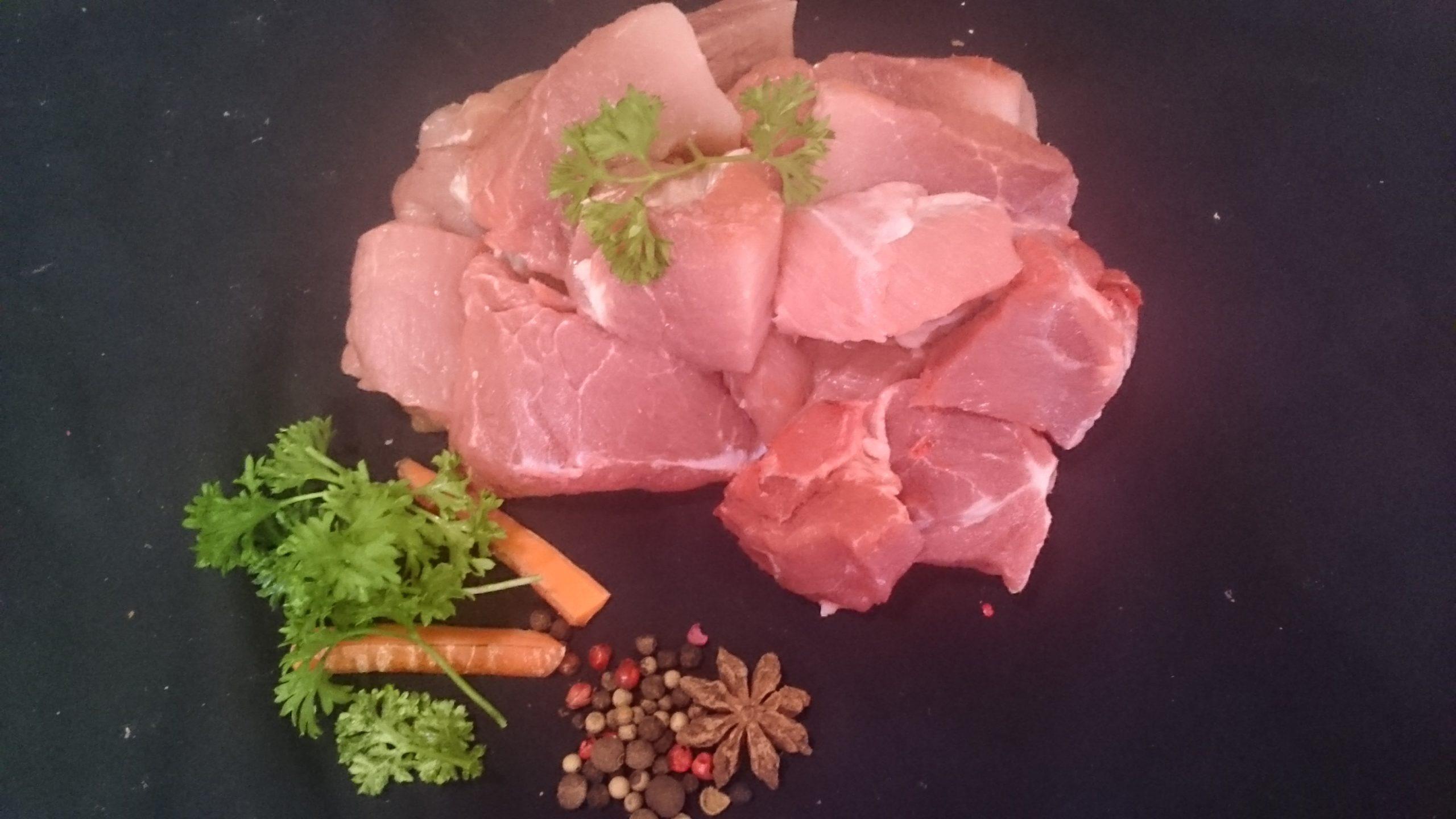 Sauté de Porc Bio 500 gr, (19,20€/Kg)