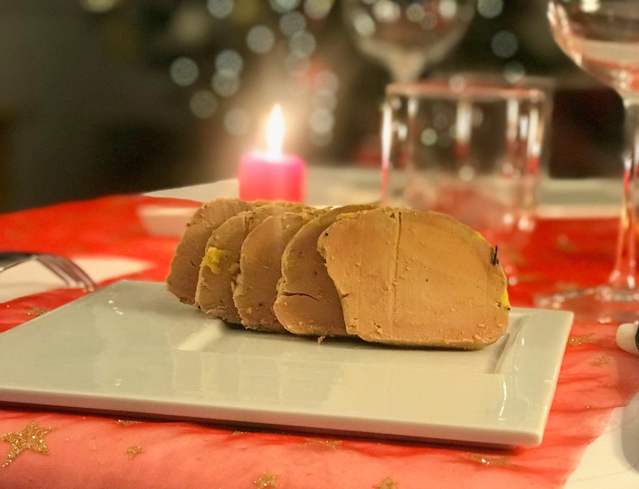 Foie gras mi-cuit fumé artisanal 400 gr, (122,50€/Kg)